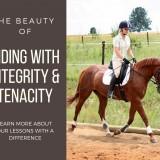Riding with integrity & tenacity